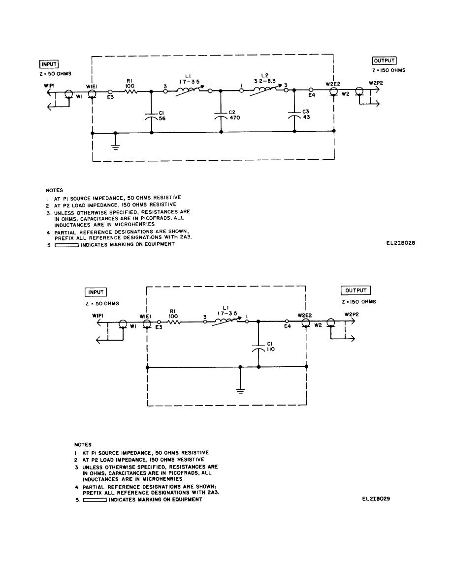 Figure 2 242 53 Mhz Low Pass Filter 2a3 Schematic Diagram Rc