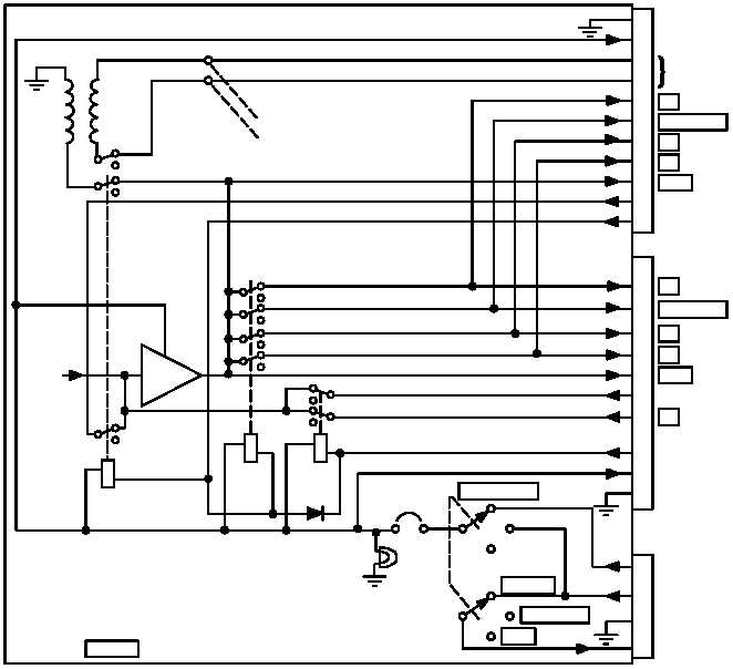 am 1780/vrc dc p ower and intercom paths on