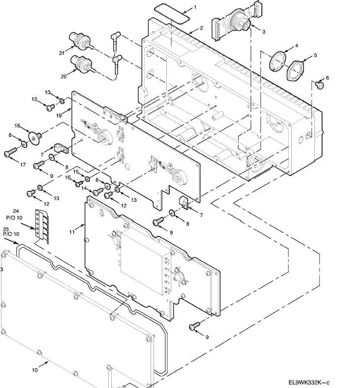 figure 166d  radio frequency amplifier am vrc