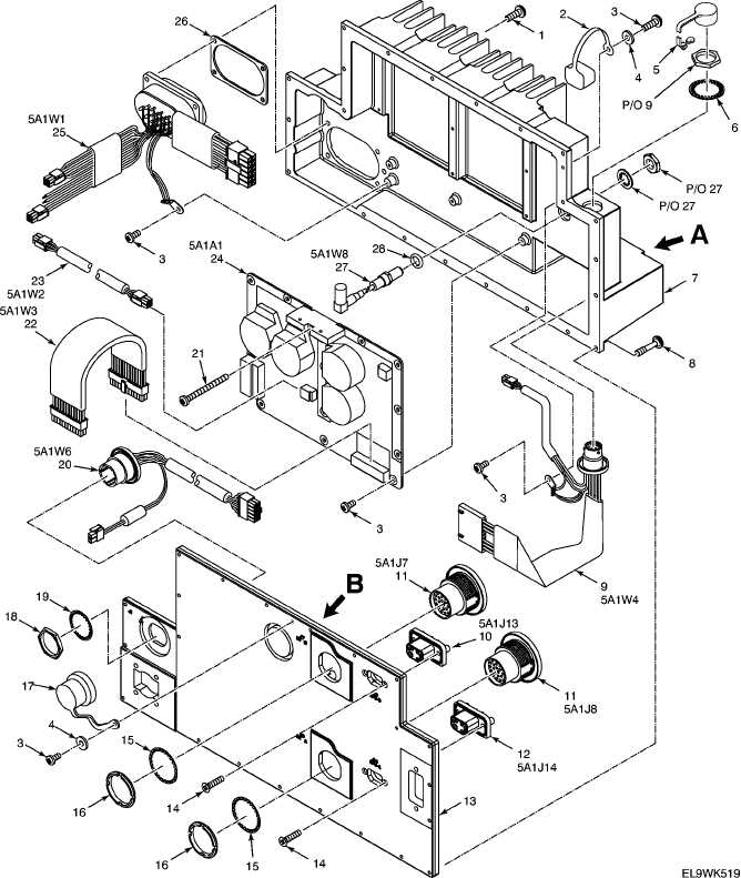 figure 12  electrical chassis-electronic equipment-adapter  power supply