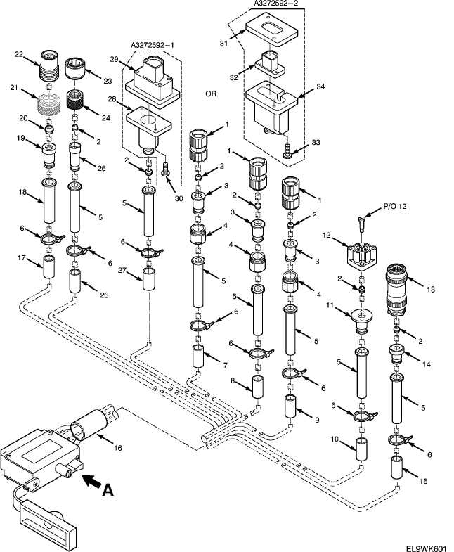 figure 41  branched wiring harness