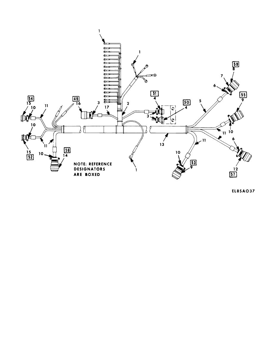 figure 10  secure retransmission wire harness assembly  sheet 1 of 4