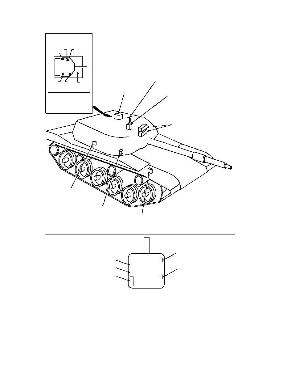 Figure 2 3 M1a2 Abrams Equipment Location Diagram